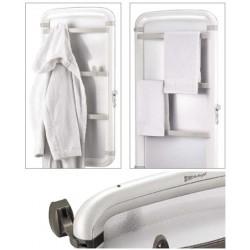 Helisea 110 biały 450 W - grzejnik łazienkowy na podczerwień