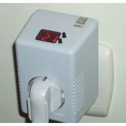 Gniazdkowy regulator temperatury PRT-1
